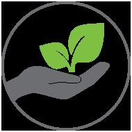 Icon Environmentaly Friendly